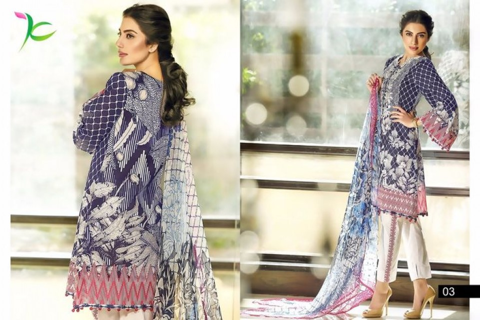 Cambric Cotton Printed Suit