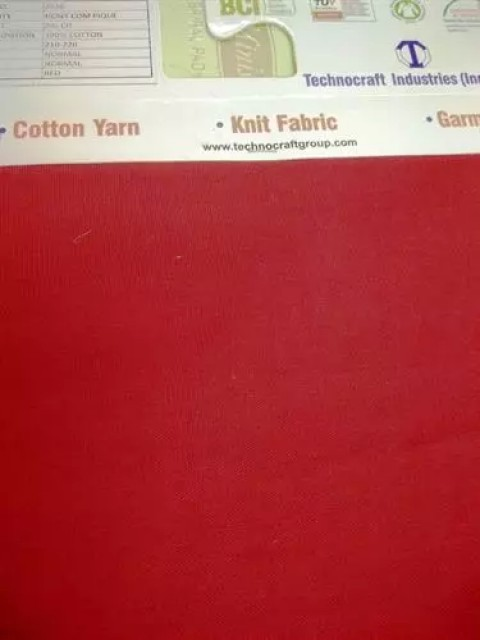 Dyed cotton knit fabric Supplier