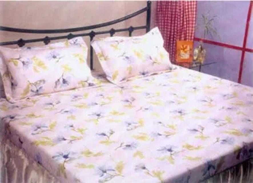 Cotton Woven Bed Sheet