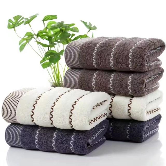 China Manufacturer Cheap Wholesale Cotton Bath Towels
