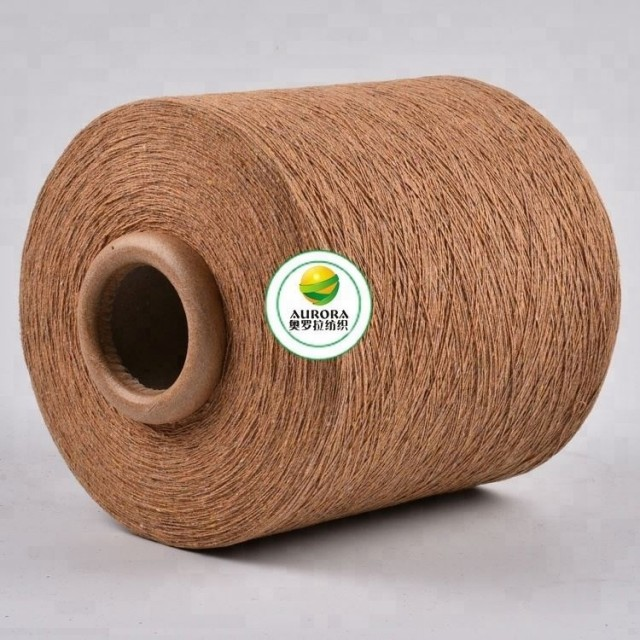 Reasonable price pc blended recycled yarn blended sock hand knitting yarn