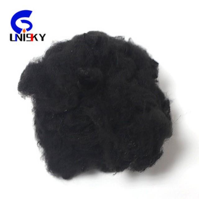 Plant polyester staple fiber