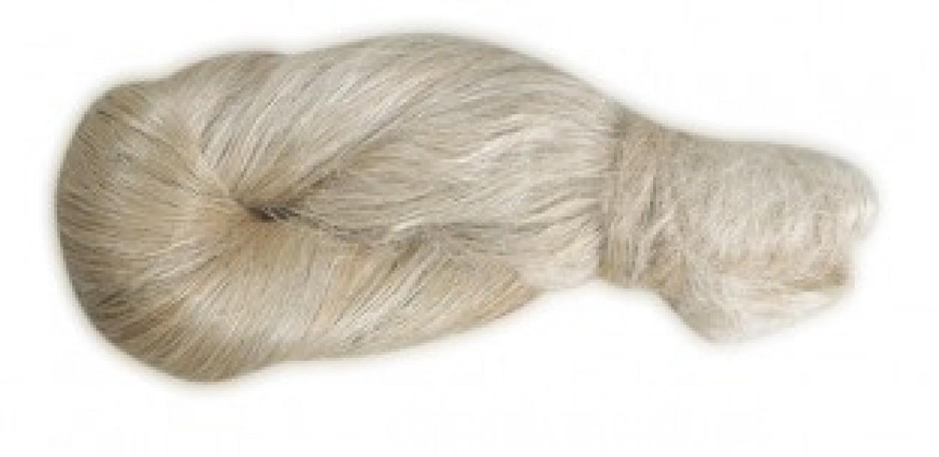 Scutched Flax long Fiber