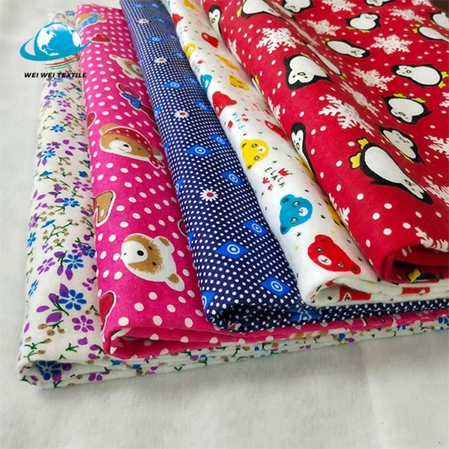 Blanket crochet fabric from textile factory