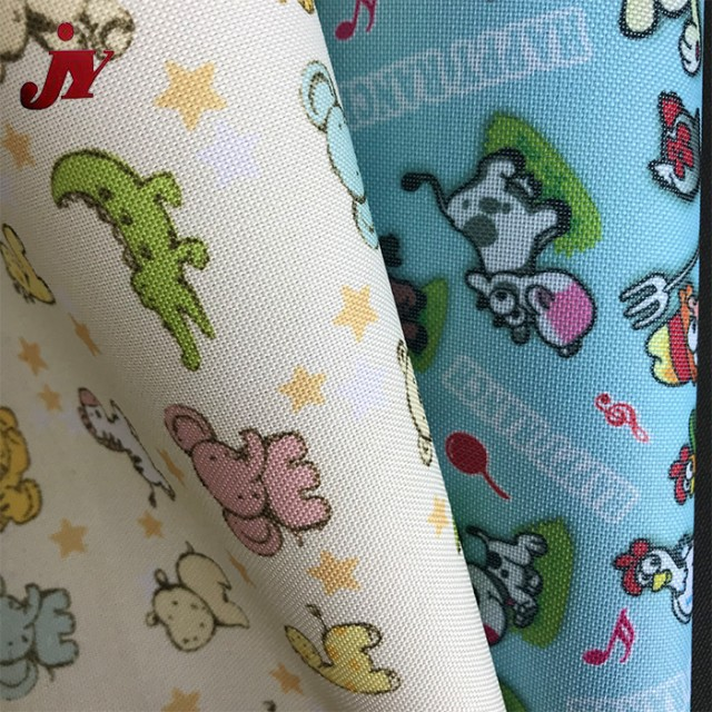 Polyester PVC Coated Home Textile Oxford Printed Fabric For Sports Bag