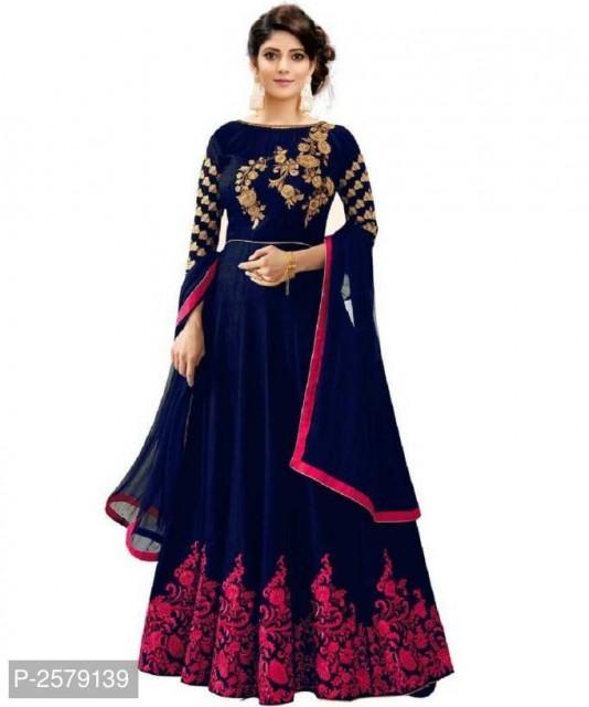 Women's Designer Embroidered Anarkali Gown